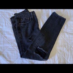 Women's Levi's Distressed Jeans